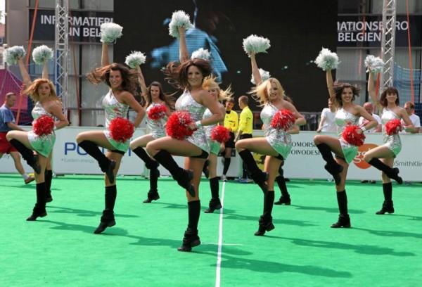 Projekt Polskie Cheerleaderki na meczu NBA